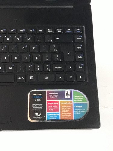 unique intel notebook positivo