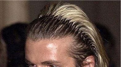 unisex black spring wave metal hoop hair band chica men.s he
