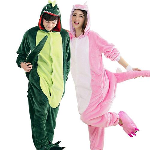 Unisex Plush Adulto De Pijama De Traje De Dinosaurio Anime ... 78eff7a6fecf