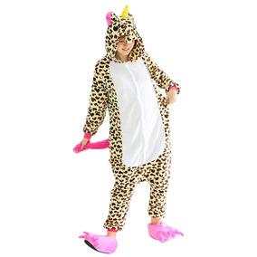 4751da186f1603 Unisex Unicornio Pijamas Onesie Felpa Animal Adulto Cosplay