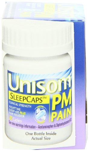 unisom pm pain 30-sleepcaps non-habit que