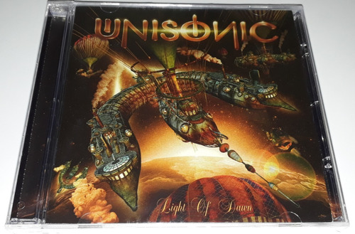 unisonic - light of dawn  (cd lacrado) ex helloween kiske