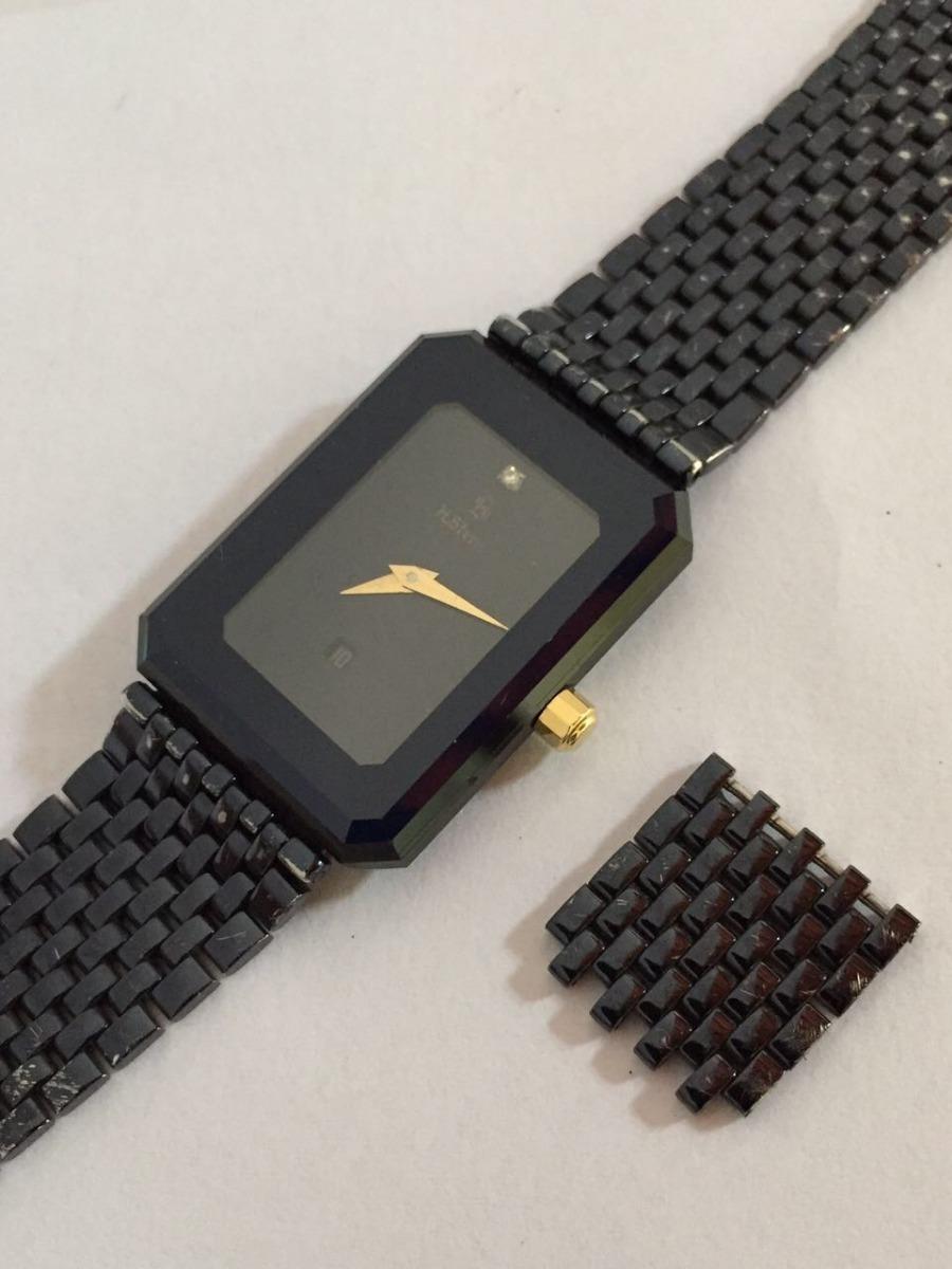 fda8b954c6e Relógio H.stern Bloco Safira Unissex Uma Joia - R  5.800