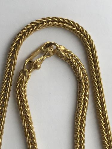 unissex, ouro corrente