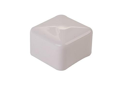unistrut 1-5 / 8  de plástico tapón blanco terminal - lote d