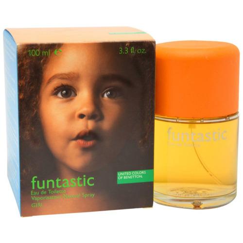 united colors de benetton funtastic edt spray, 3.3 oz fl