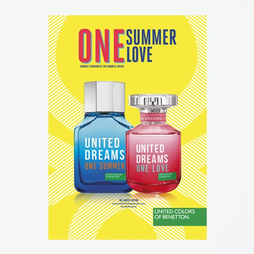 4550bb92d United Dreams One Summer Benetton Masculino - Edt 100ml - R  99