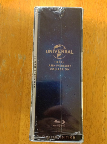 universal 100th anniversary collection blu ray con 25 discos