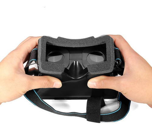 universal 3d virtual reality vr video cradboard óculos para
