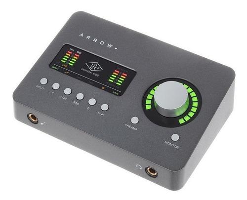 universal audio arrow placa thunderbolt con plug ins