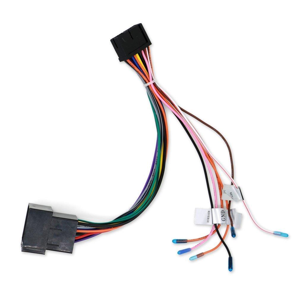 Erfreut Auto Audio Iso Anschluss Zeitgenössisch - Elektrische ...