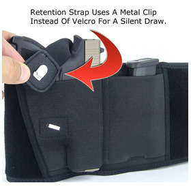 Universal Belly Band Coldre Cinto Escondido Carry Bag Multi-