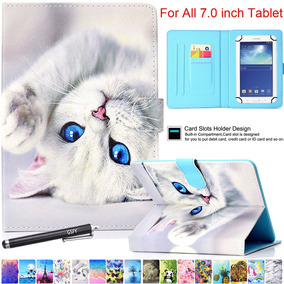 Universal Case For 6 5-7 5 Inch Tablet, Newshine Pu Leather