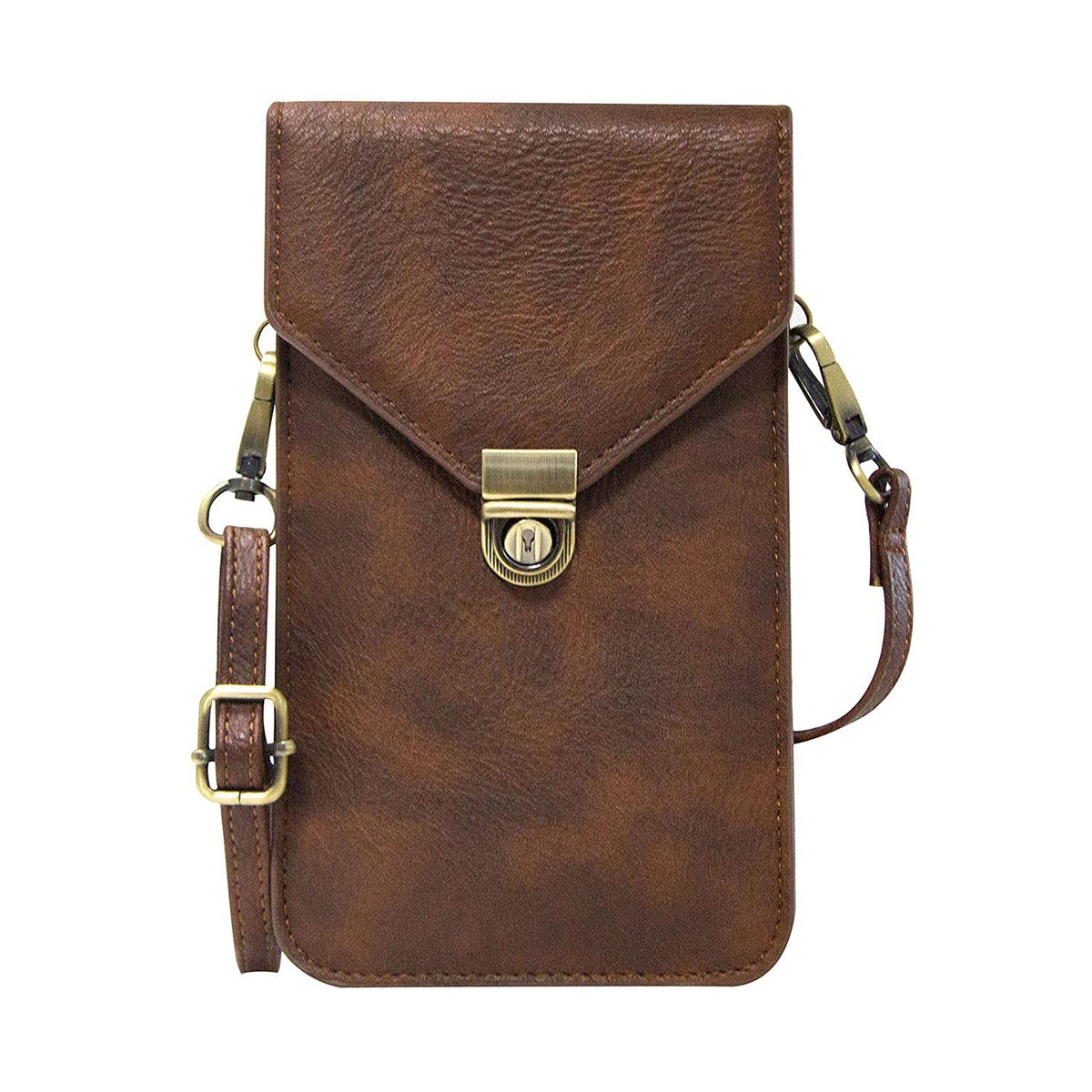 430d4b329cc6 Universal Crossbody Cell Phone Bag For Woman, Dteck Leather