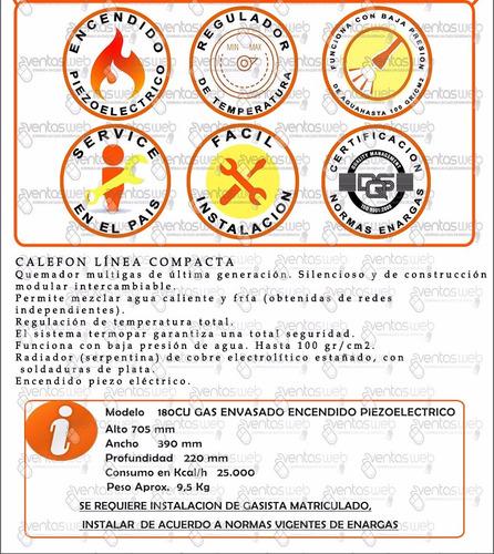 universal gas calefon