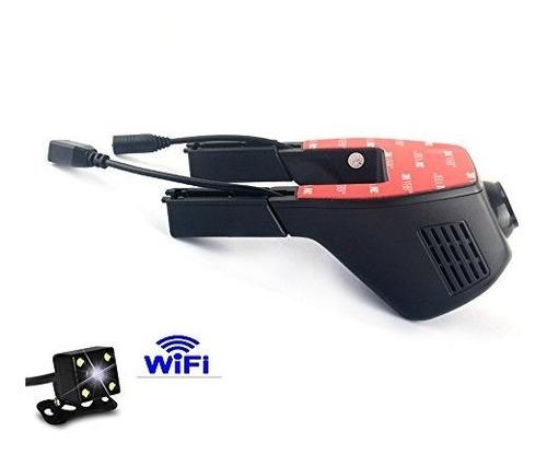 universal integrado wifi coche camara oculta dvr dash camara