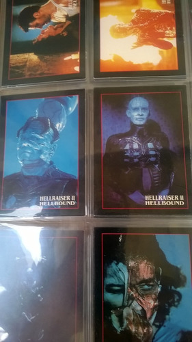 universal monsters illustrated. 1991. topps. cards set (60)
