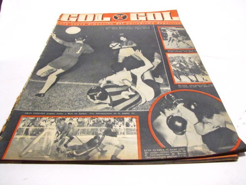 universidad catolica 1962 revista gol y gol