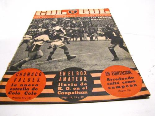 universidad catolica 1962 revista gol y gol