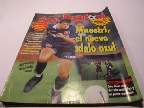universidad de chile 1998 revista don balon (4)