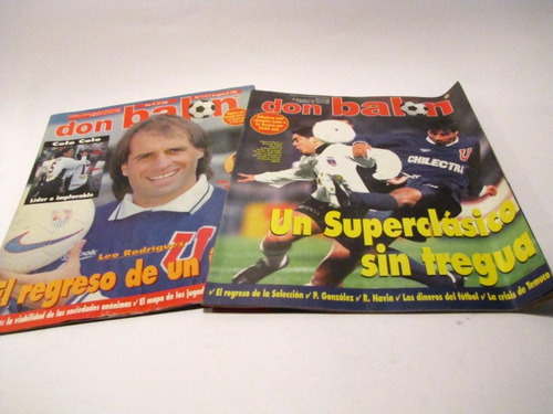 universidad de chile 1998  revista don balon n 304, 305 (5)