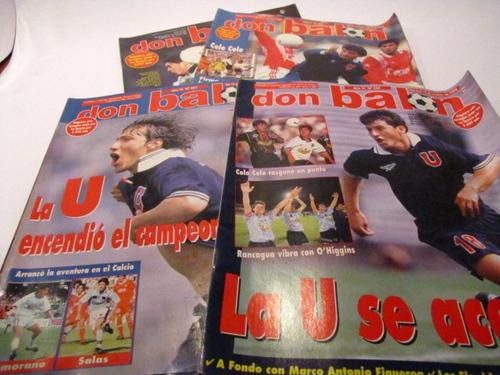 universidad de chile 1998 revista don balon n 310, 327 (4)