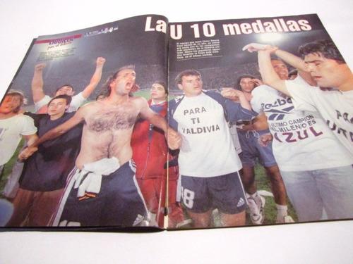 universidad de chile campeon 1999 revista don balon