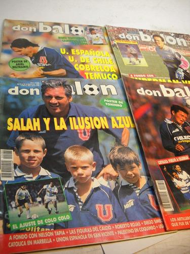 universidad de chile revistas don balon  1993 -  1994 (4)