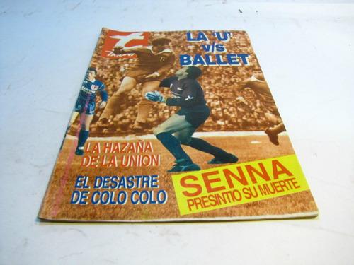 universidad de chile versus ballet azul, triunfo, 1993