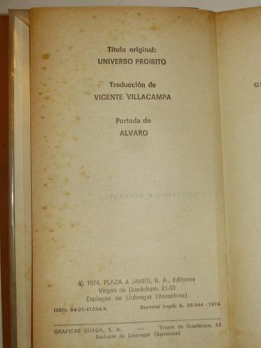 universo prohibido leo talamonti plaza & janes esp 1974