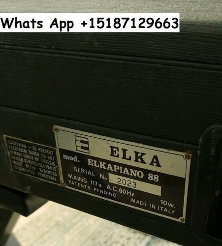 univox compac 2 vintage 1970s keyboard rare! working