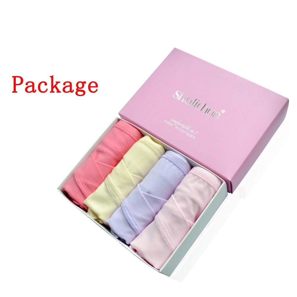 5a26c1d83a1 Uniwit 4 Pack Cotton Soft Maternity Bragas Embarazadas De - S  220 ...