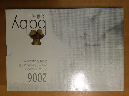 unk-s61 set 10 monedas gran bretaña 2006 unc-bu baby ayff