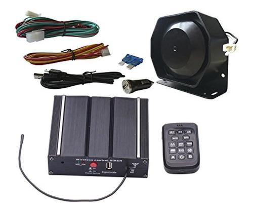 unknown as 100w police car siren speaker