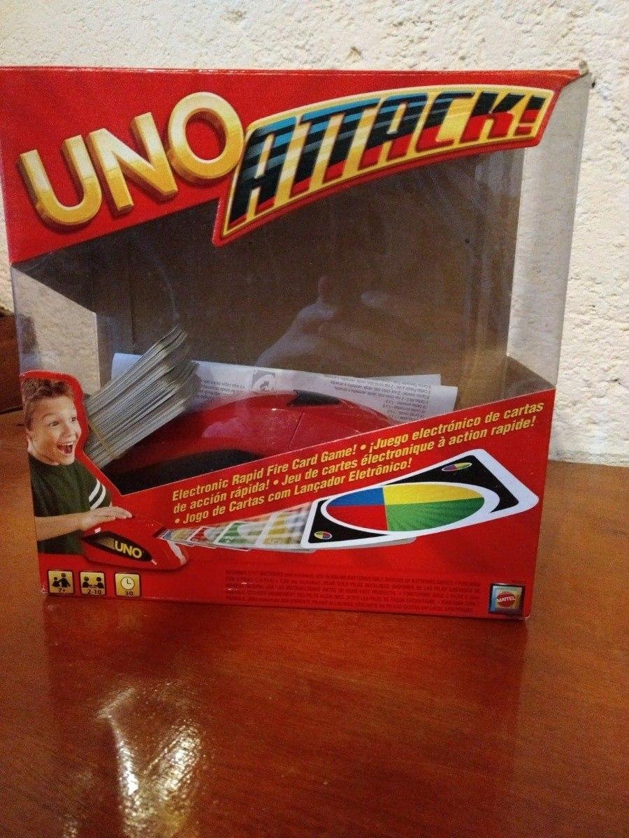 Uno Attack Juego De Mesa Mattel 450 00 En Mercado Libre