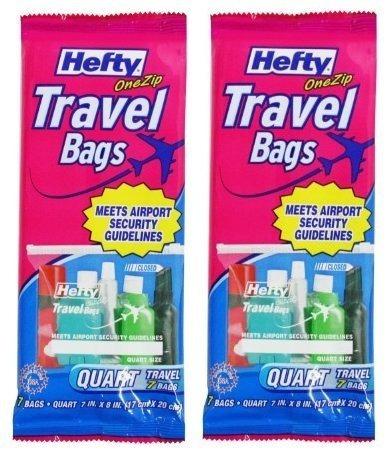 uno de viaje fuertes postal bolsas quart tamaño envío gratis