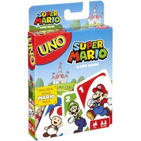 Uno Edición Super Mario Juego De Cartas Con Envío Incluido
