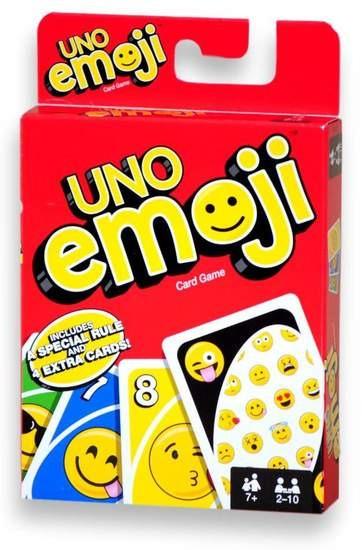 Uno Emoji Juego De Mesa Familiar 130 00 En Mercado Libre