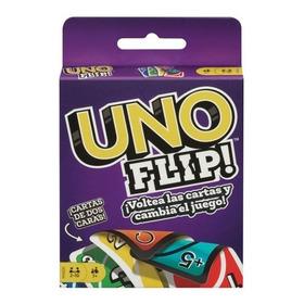 Uno Flip Juego De Mesa Cartas Doble Cara Mattel Con Envio