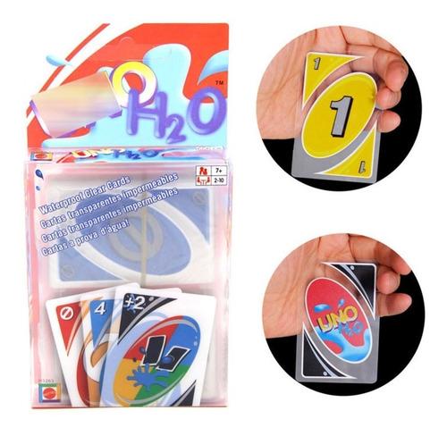 uno h2o juego cartas