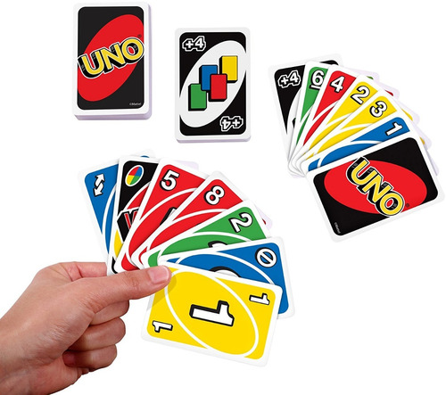 uno jogo de cartas baralho uno game novo caixa pronta entreg
