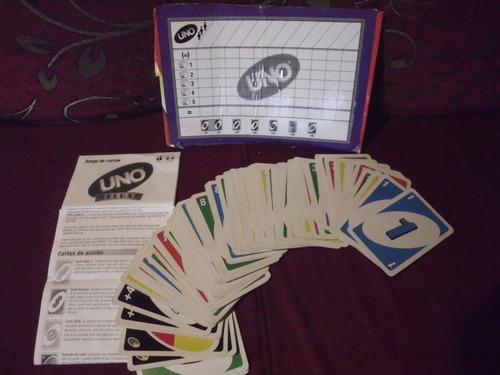 uno juego mesa tabla y manual usado unico.