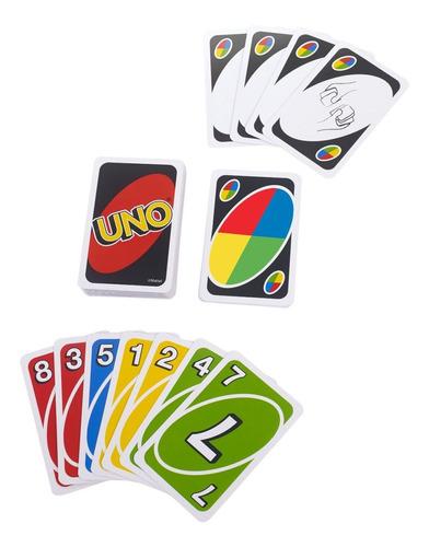 uno original, juego de cartas familiar