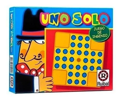uno solo juego de ingenio niños ruibal original piu online