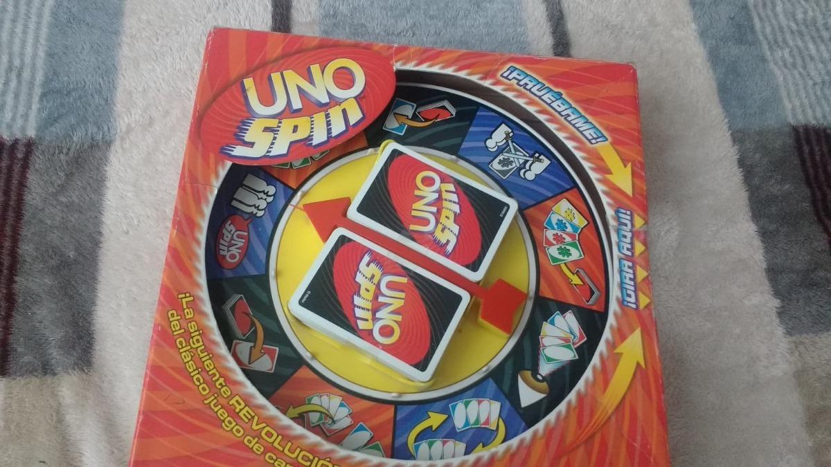 Uno Spin De Mattel Juego De Mesa 375 00 En Mercado Libre