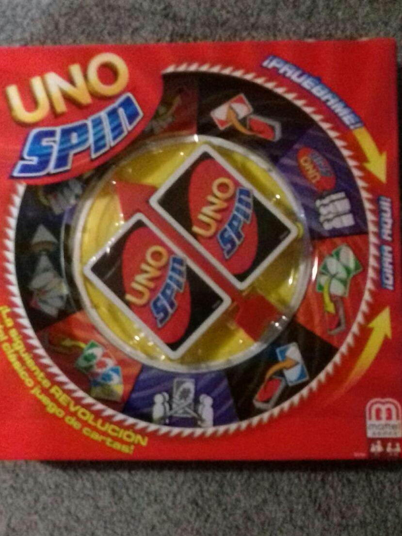 Uno Spin Juego De Mesa 390 00 En Mercado Libre