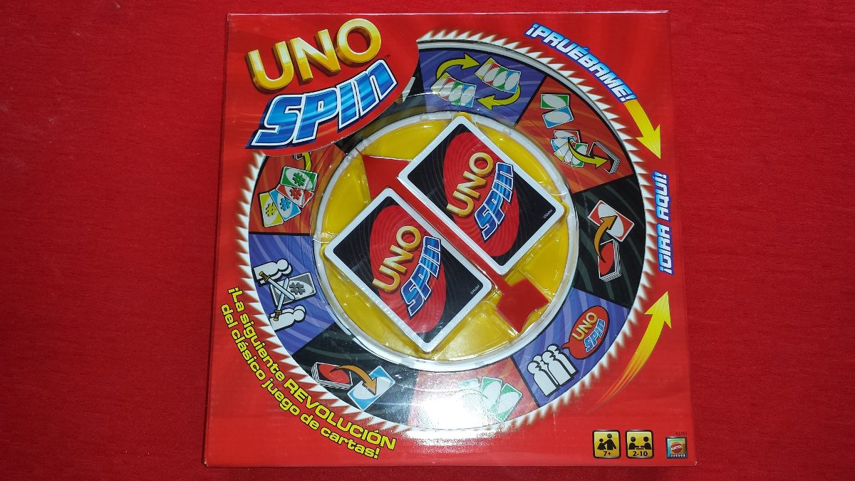 Uno Spin Juego De Mesa De Mattel 635 00 En Mercado Libre