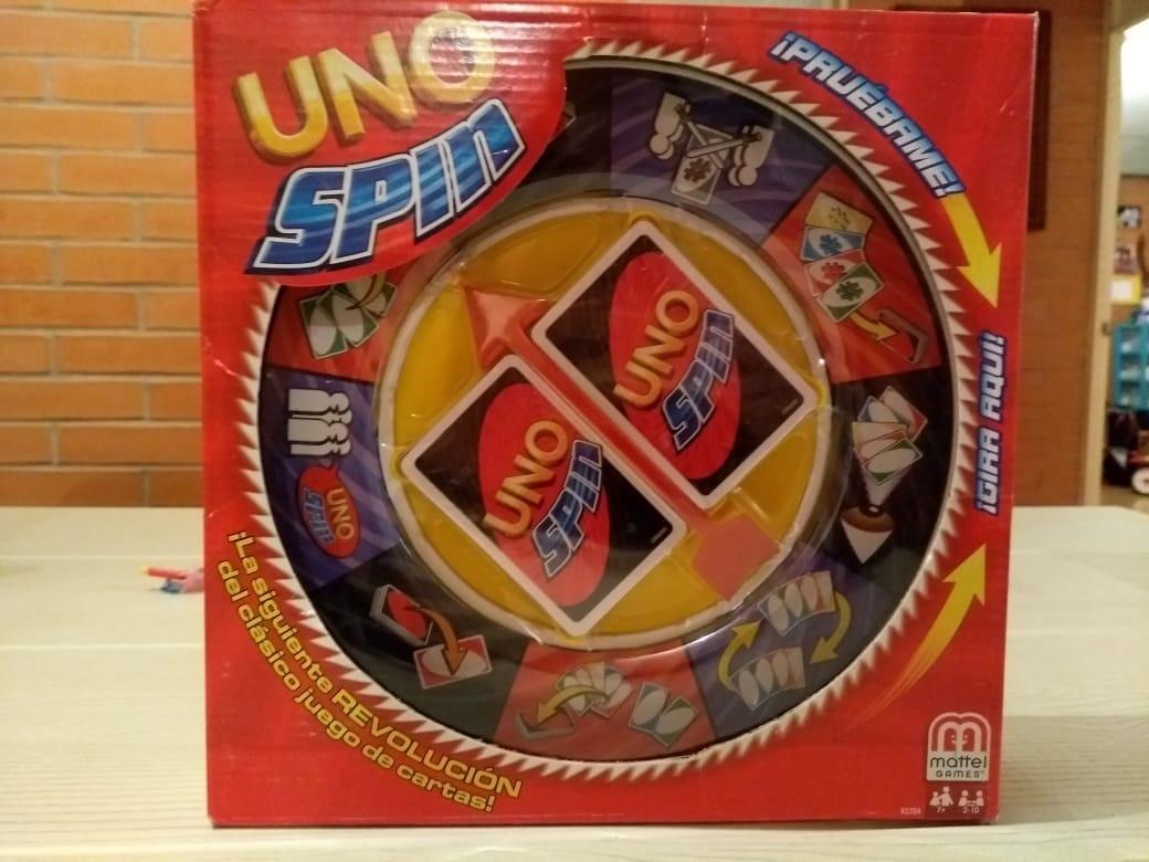 Uno Spin Juego De Mesa Original Mattel 530 00 En Mercado Libre