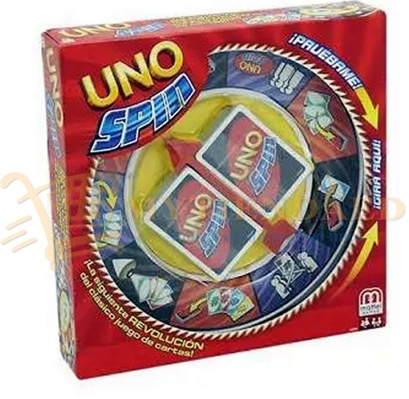 Uno Spin Nuevo Juego De Mesa Mattel 349 00 En Mercado Libre