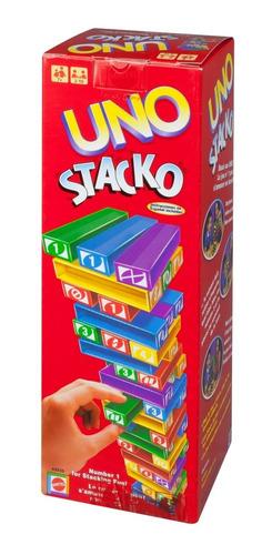 uno stacko, juego de mesa familiar